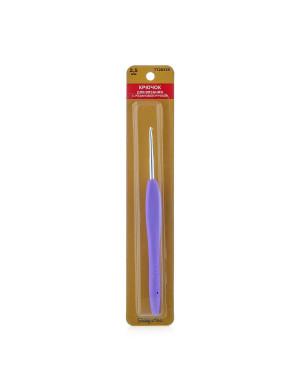 24R25X Крючок для вязания с резиновой ручкой, 2,5 мм