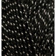 60-01 черный с серебром