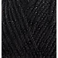 6060 чёрный с чёрным люрексом
