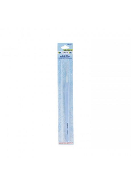 RHP крючок с прорезин. ручкой металл d 2.0 мм 16 см в блистере