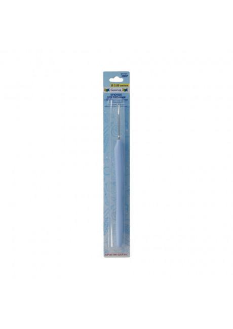 RHP крючок с прорезин. ручкой металл d 3.0 мм 16 см в блистере