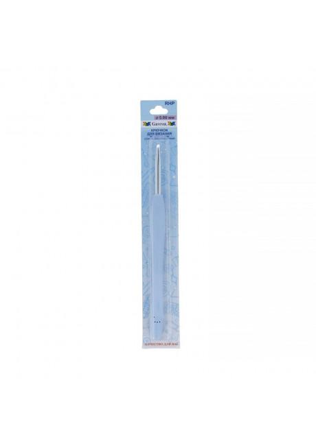 RHP крючок с прорезин. ручкой металл d 5.0 мм 16 см в блистере