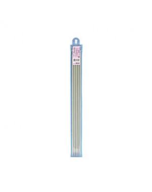 Спицы 5-ти компл. KN-35 металл d 6.0 мм 35 см с покрытием