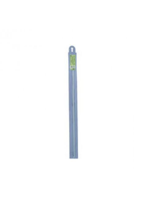 SH1 крючок для тунисского вязания металл d 3.5 мм 36 см в чехле