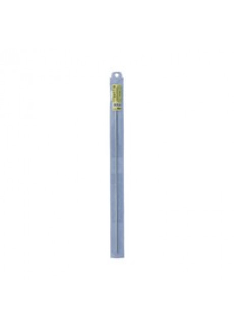 SH1 крючок для тунисского вязания металл d 4.0 мм 36 см в чехле