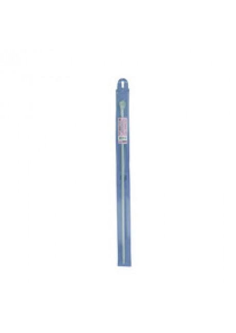 SH1 крючок для тунисского вязания металл d 6.0 мм 36 см в чехле