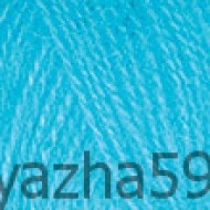 235 голубая бусина